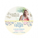 Crafter's Companion Sara Signature Little Angel Collection - Luxury Ribbon Simply White